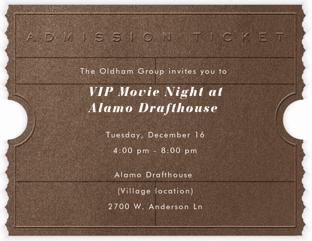 Alamodraft House Movie Night - Dec 16th